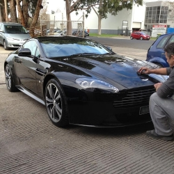 Aston Martin Car Scratch Repairs Melbourne